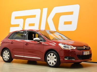 käytetty Citroën C4 HDi 92 Edition ** Suomi-auto / Lohkolämmitin & sisäpistoke / Peruutustutka / Vakkari / Vetokoukku / Aux-in **