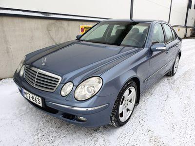 käytetty Mercedes E320 CDIA Elegance, Irrotettava vetokoukku, Navigointi, Autom. ilmastointi, Kaadettavat takapenkit, SUPERKUNTO !!!