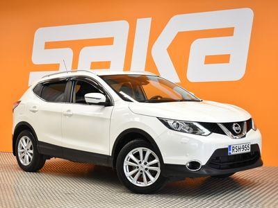 käytetty Nissan Qashqai DIG-T 115 Business 360 2WD 6M/T E6 Leather ** 360° Kamera / Navi / Suomi-auto / Vakkari / Nahkasisusta / BLIS **