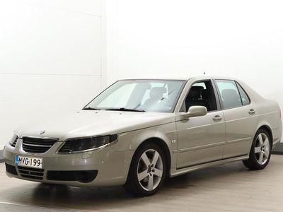 käytetty Saab 9-5 2,3t Vector Sentronic Business - Suomi-auto, nahkapenkit, vetokoukku ym.