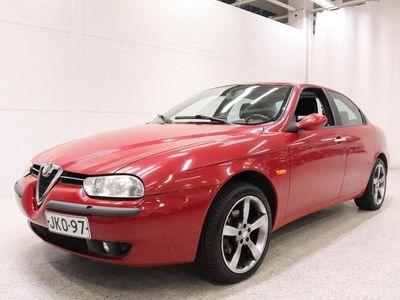 käytetty Alfa Romeo 156 2,0 T.S. 16V 4d - Suomiauto lohkolämmittimellä & sisäpistokkella!
