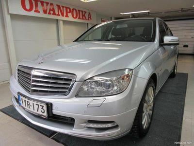 käytetty Mercedes C220 CDI A Elegance KÄSIRAHA 0% Takuu1v./20tkm! Suomi-auto! Huoltokirja, Aut.ilmastointi, Cruise, X