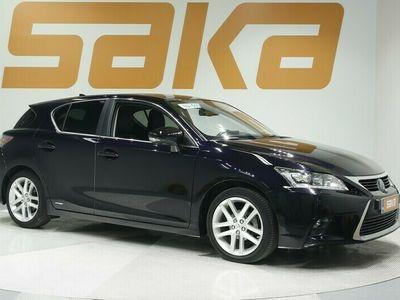 käytetty Lexus CT200h Hybrid A Luxury ** Adapt.Vakkari / Mark Levinson / Nahkasisusta / Muistipenkki / KeyLessGo / LED / Navi / P-Kamera **