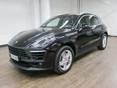 käytetty Porsche Macan S Diesel Advantage Package **LED-Valot, Nahat, Navi, Panoraama-katto, Connected Plus, Suomi Auto** *