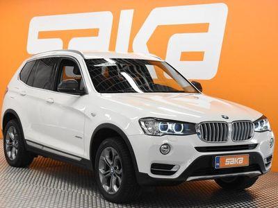 käytetty BMW X3 F25 xDrive20i A X-Line ** Facelift / Nahkapenkit / Navi / Tutkat / Xenon **