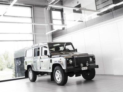 käytetty Land Rover Defender 2,4 diesel 110 SW + Bluetooth