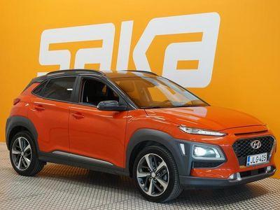 käytetty Hyundai Kona 1,6 T-GDI 4WD 7DCT-aut. Style NEDC BT ** Krell-äänentoisto / Kaistavahti / HUD / Peruutuskamera / Ap