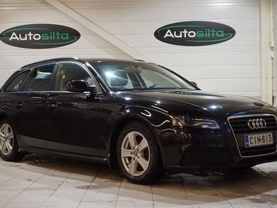 käytetty Audi A4 2.0 TDI AVANT BUSINESS ILMASTOINNILLA. Myös vaiho ja rahoitus. Nyt jopa ilman käsirahaa.