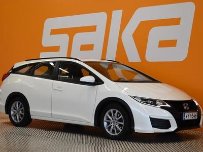 käytetty Honda Civic Tourer 1,8i Comfort ** Suomi-auto / Huoltokirja / Vähän ajettu / Siisti **