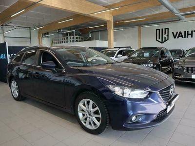 käytetty Mazda 6 Sport Wagon 2,0 145 SKYACTIV-G Premium # SUOMI-AUTO, Tutkat, Xenon, Vakionopeudensäädin, USB, Aux-in, LED-Lisäpitkät #