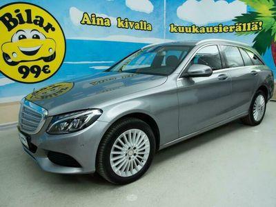käytetty Mercedes C350e T A Luxury // JUURI HUOLLETTU // ILMA-ALUSTA // P.KAMERA // NAVI - *NYT VARASTONTYHJENNYS!*