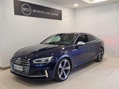 käytetty Audi S5 Coupé 3,0 V6 TFSI 260 kW quattro tiptronic. ACC, Matrix, B&O, 360-kamera, Tour-paketti, Hieronta