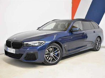 käytetty BMW 520 520d Xdrive G31 Touring d A xDrive MHEV Msport, Cognac sisusta, Hifit, BPS
