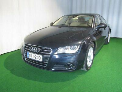 käytetty Audi A7 3.0 V6 TDI 180 KW Business Quattro AUT / edullinen rahoitus / kotiintoimitus