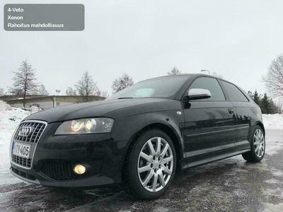 käytetty Audi S3 2.0 TFSi +310Hv QUATTRO,Suomi-Auto,1-Omistaja,Sähköinen tasauspyörästön lukko,Rahoitus jopa ilman käsirahaa.