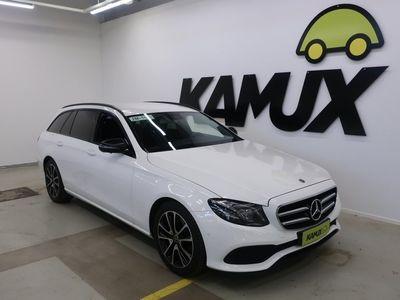 käytetty Mercedes E220 4Matic Premium Business Shadowline // Navigointi / 360-kamera / Sähkötoiminen vetokoukku //
