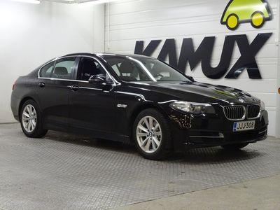 käytetty BMW 518 518 F10 Sedan d TwinPower Turbo A Business Automatic / Vetokoukku / Suomi-Auto / 1-Omisteinen