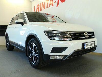 käytetty VW Tiguan Highline 2,0 TDI SCR 140 kW (190 hv) 4MOTION DSG-automaatti