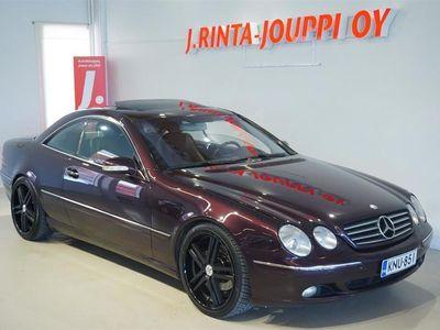 käytetty Mercedes CL500 CL CL500 Coupé (AD) 2ov 4966cm3 A *Hyvin pidetty klassikko V8