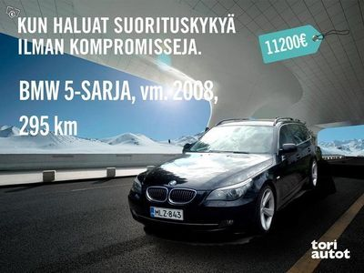 used BMW 535 d touring