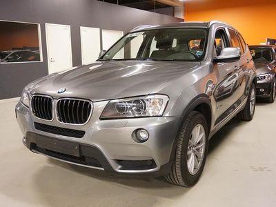käytetty BMW X3 xDrive20d TwinPower Turbo A F25 Business Automatic Edition ** Panorama / Navi / Tutkat / Vakkari **