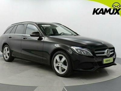 käytetty Mercedes C220 d T A Premium Business / Tulossa myyntiin / Adapt- Cruise / HUD / BLIS / Navigointi /