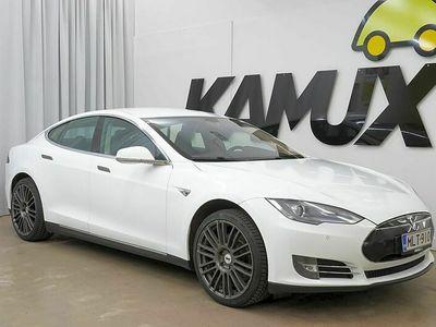 käytetty Tesla Model S 85kWh 283kW / Suomi-auto / Peruutuskamera / Siisti kuntoinen /