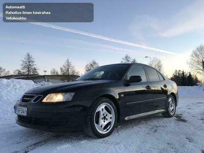 käytetty Saab 9-3 2.0 Turbo Vector AUTOMATIC-Rahoitus jopa ilman käsirahaa alk.69Eur/kk