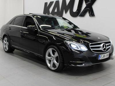 käytetty Mercedes E300 BlueTec Hybrid A Premium Business **SUOMI-AUTO, WEBASTO KAUKOSÄÄTIMELLÄ, NAHAT, NÄYTTÄVÄ!!!**