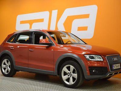 käytetty Audi Q5 Offroad Business 2,0 TDI 140 kW quattro S tronic ** Huippuvarusteet / Webasto / Sporttipenkit / **