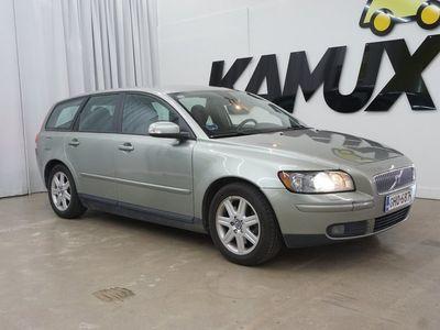 käytetty Volvo V50 2,4i (170 hv) Summum / Xenon / Nahat / Juuri katsastettu