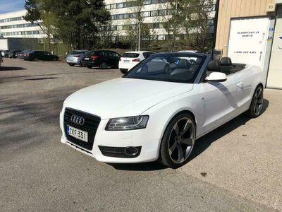 käytetty Audi A5 Cabriolet 3.0 TDi Quattro S-Line NÄYTTÄVÄ JA RIPEÄ AVO ! KÄSIRAHA ALKAEN 0€