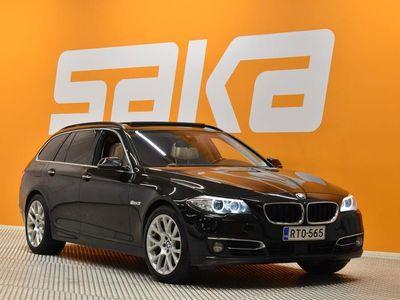 käytetty BMW 535 TwinPower Turbo Luxury ** Supervarusteet / Adapt. cruise / HUD / Hamrna/Kardon / Ilmastoidut Comfort-istuimet mu...