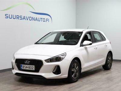 käytetty Hyundai i30 5d 1,4 T-GDI 140hv 7DCT-aut. Fresh Plus **AUTOMAATTI / MERKKIHUOLLETTU / PITKÄLLÄ TEHDASTAKUULLA**
