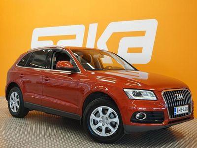 käytetty Audi Q5 Business 2,0 TDI 140 kW quattro S tronic ** Juuri tullut / Suomi-auto / Panorama **