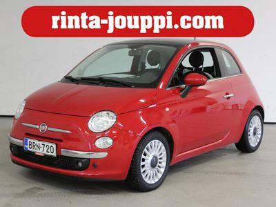 käytetty Fiat 500 500 Lounge 1,2 8v 69hv Dualogic-automaatti S&S Bensiini - TÄSTÄ SIEVÄ PUNAINENAUTOMAATTI