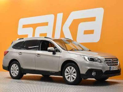 käytetty Subaru Outback 2,5i Base CVT ** Suomiauto / Adapt. cruise / P. kamera / Juuri huollettu! / Vetokoukku / KeyLess **