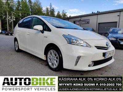 käytetty Toyota Prius+ Linea Sol 7p (KÄSIRAHA 0%, KORKO ALK. 0%)