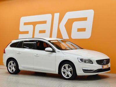 käytetty Volvo V60 D5 AWD Twin Engine Business aut ** Juuri katsastettu / Webasto / Aktiiviset kaarrevalot / Digimittar