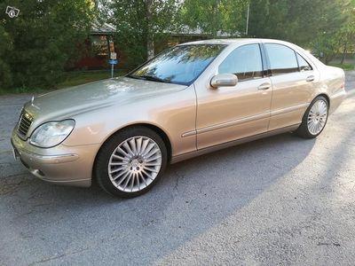 käytetty Mercedes S500