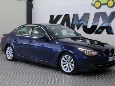 käytetty BMW 520 IA E60 Sedan / SUOMI-AUTO/ VETOKOUKKU / XENON / VAKIONOPEUDENSÄÄDIN /