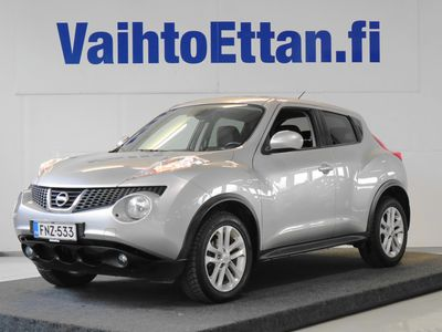 käytetty Nissan Juke 1,6L Acenta 2WD CVT, Navi / Peruutuskamera / Vakkari / Keyless Go