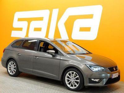 käytetty Seat Leon ST 1,8 TSI 180 FR ** Juuri katsastettu / Navi / Kaistavahti / LED / Sporttipenkit / Tutkat / Koukku **