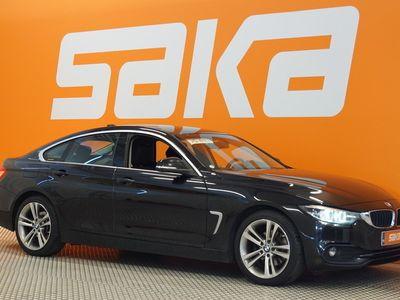 käytetty BMW 420 Gran Coupé F36 420d A Sportline ** harman/kardon / Sporttipenkit / LED / P-tutka / Bluetooth / Sähkö