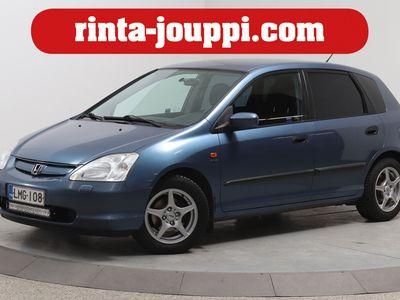 käytetty Honda Civic 1,6i LS 5d - 2-Omistajalta ilmastoitu Civic!