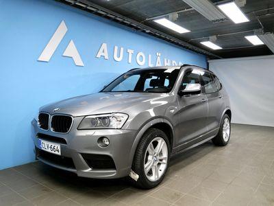 käytetty BMW X3 xDrive 20d M-Sport A KORKO: 2.95% + Kasko -30%!
