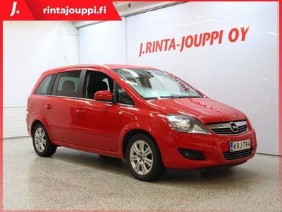 käytetty Opel Zafira 5-ov Enjoy Ultimate 1,8 Ecotec 103kW MT5 *** J. kotiintoimitus