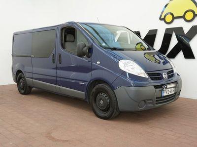 käytetty Nissan Primastar Van L2H1 / WEBASTO / VETOKOUKKU / BLUETOOTH /