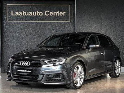 käytetty Audi S3 Sportback 2,0Tfsi 310hv 7-Speed S-tronic Facelift *Led-ajovalot, Virtual cockpit, Bang&olufsen,Navi, Daytona gre...