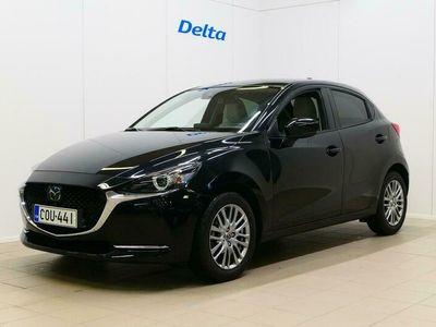 käytetty Mazda 2 1,5 M Hybrid (90 hv) Skyactiv-G Luxury MT White Leather